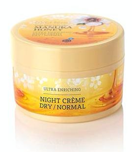 Wild Ferns Manuka Honey Night Crème Dry Normal