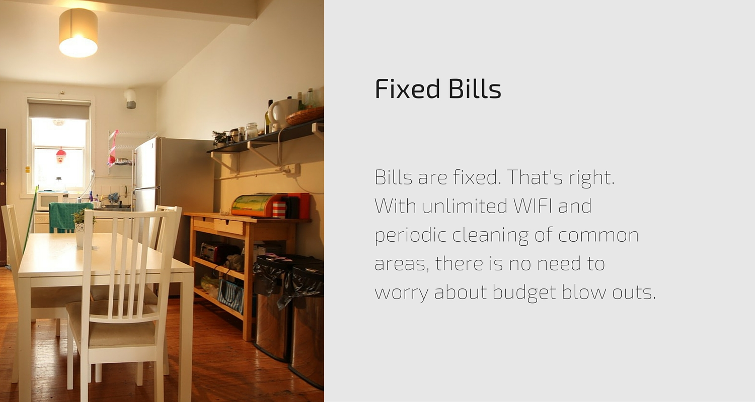 Fixed Bills