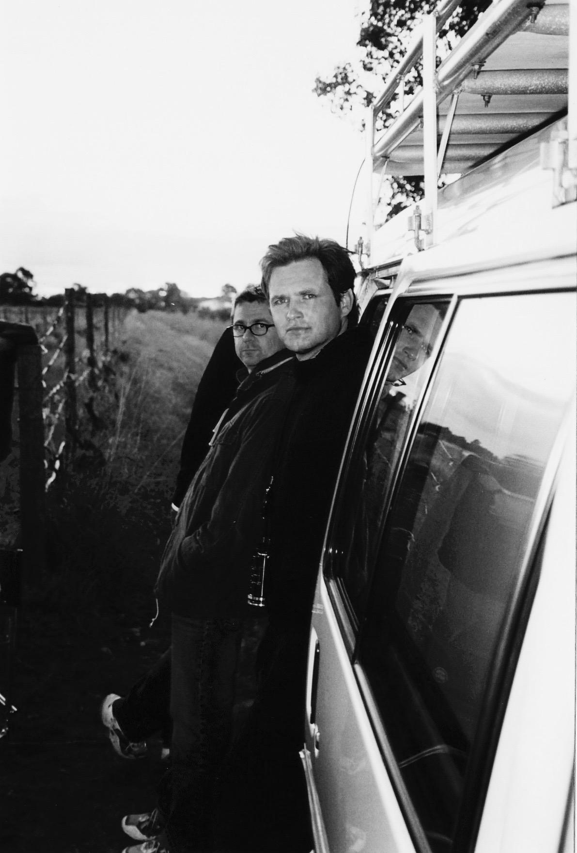 "Martin Wilson and The Brand Agency Creative Director Craig Buchanan on the RAC ""Hitchcock"" TV Commercial."