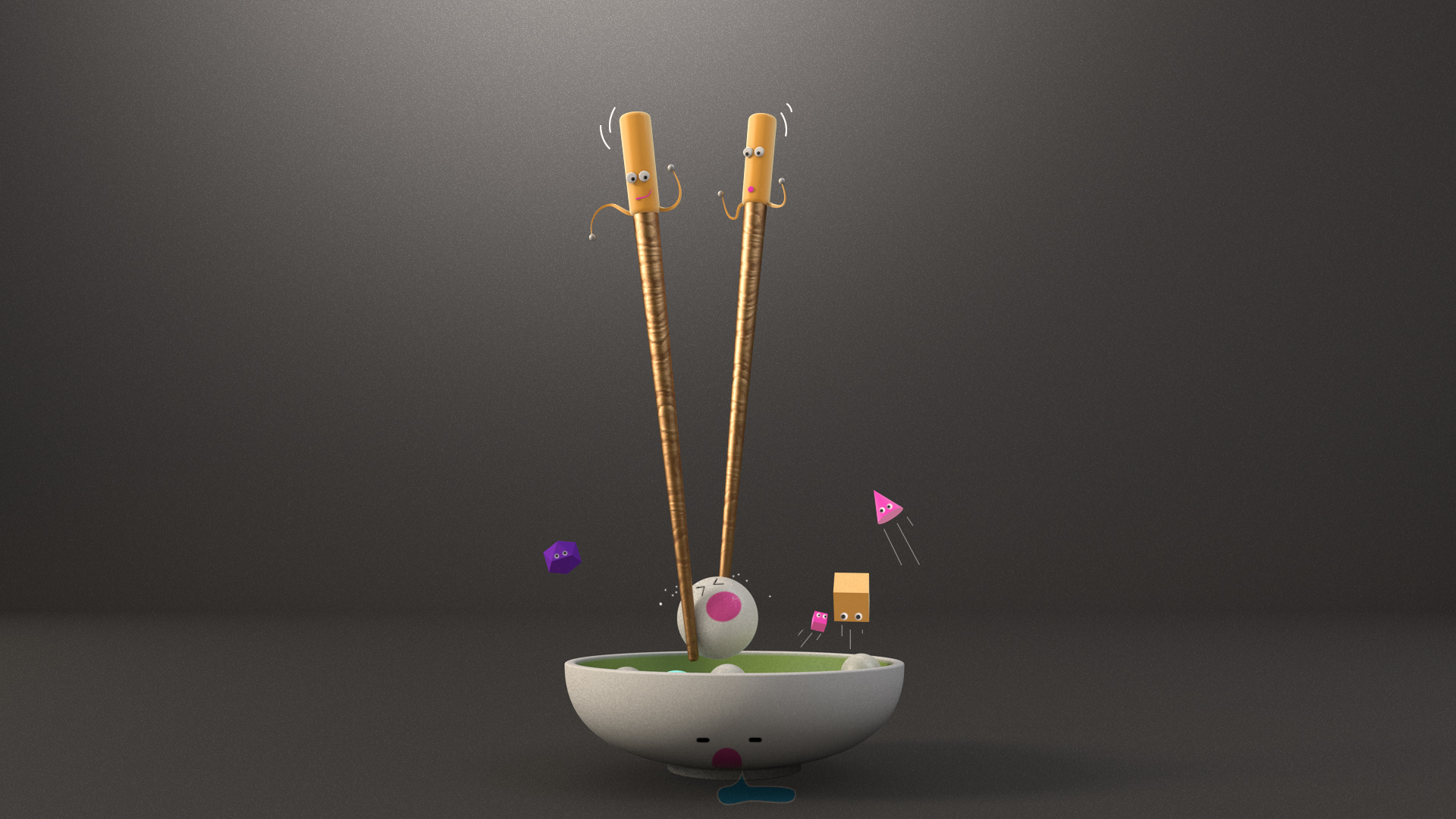 The Naughty Chopsticks