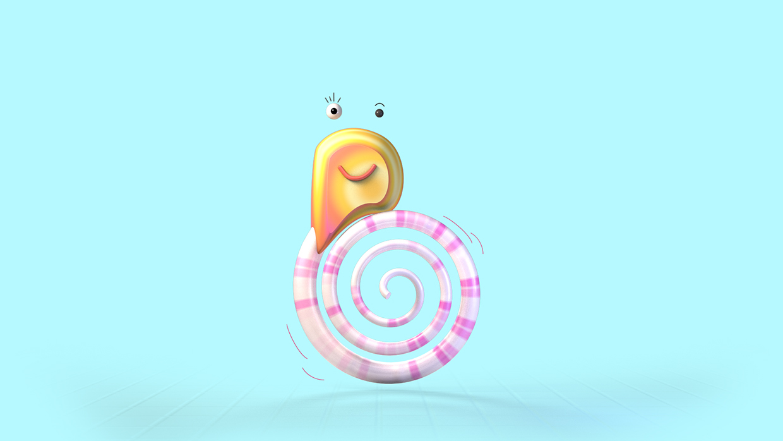 BUBU  - Aspiring fashionista snail