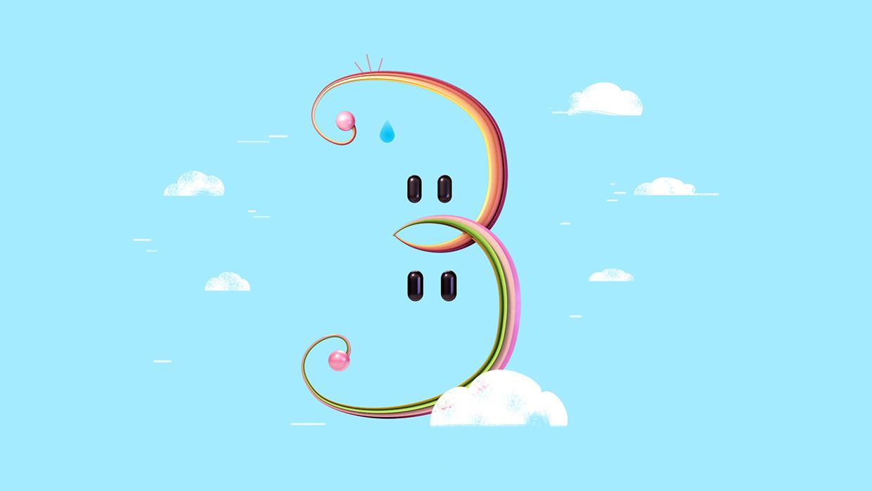 3  -Over thinker rainbow twins