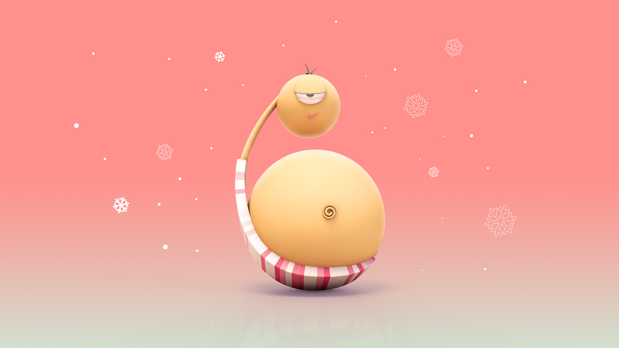 6  -Bellyman, walks using his belly and always appears out of nowhere once a year during festive season