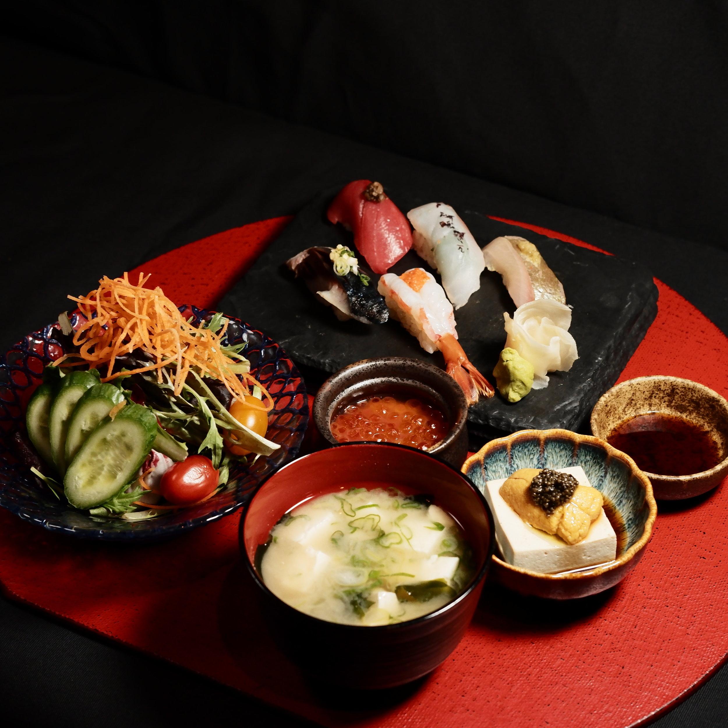 Omakase Sushi Gozen