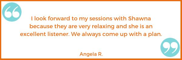patient testimonial Angela R. Shawna Seth, L.Ac. acupuncture San Francisco
