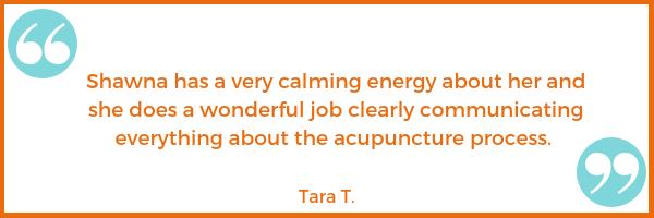 communication testimonial Tara T. Shawna Seth, L.Ac. acupuncture San Francisco