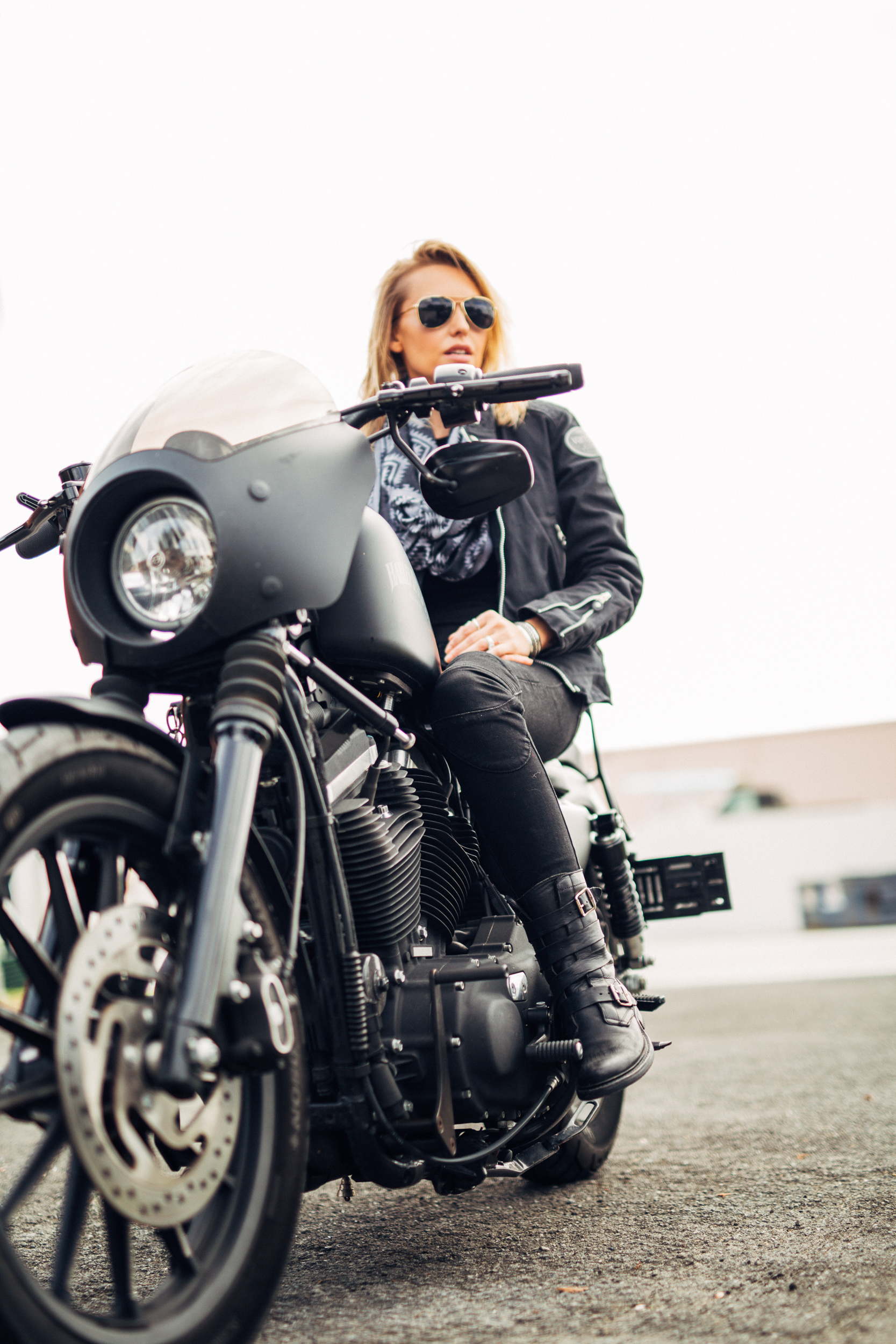 Leticia Cline -Review the Ugly Bros Twiggy Motorcycle Jeans