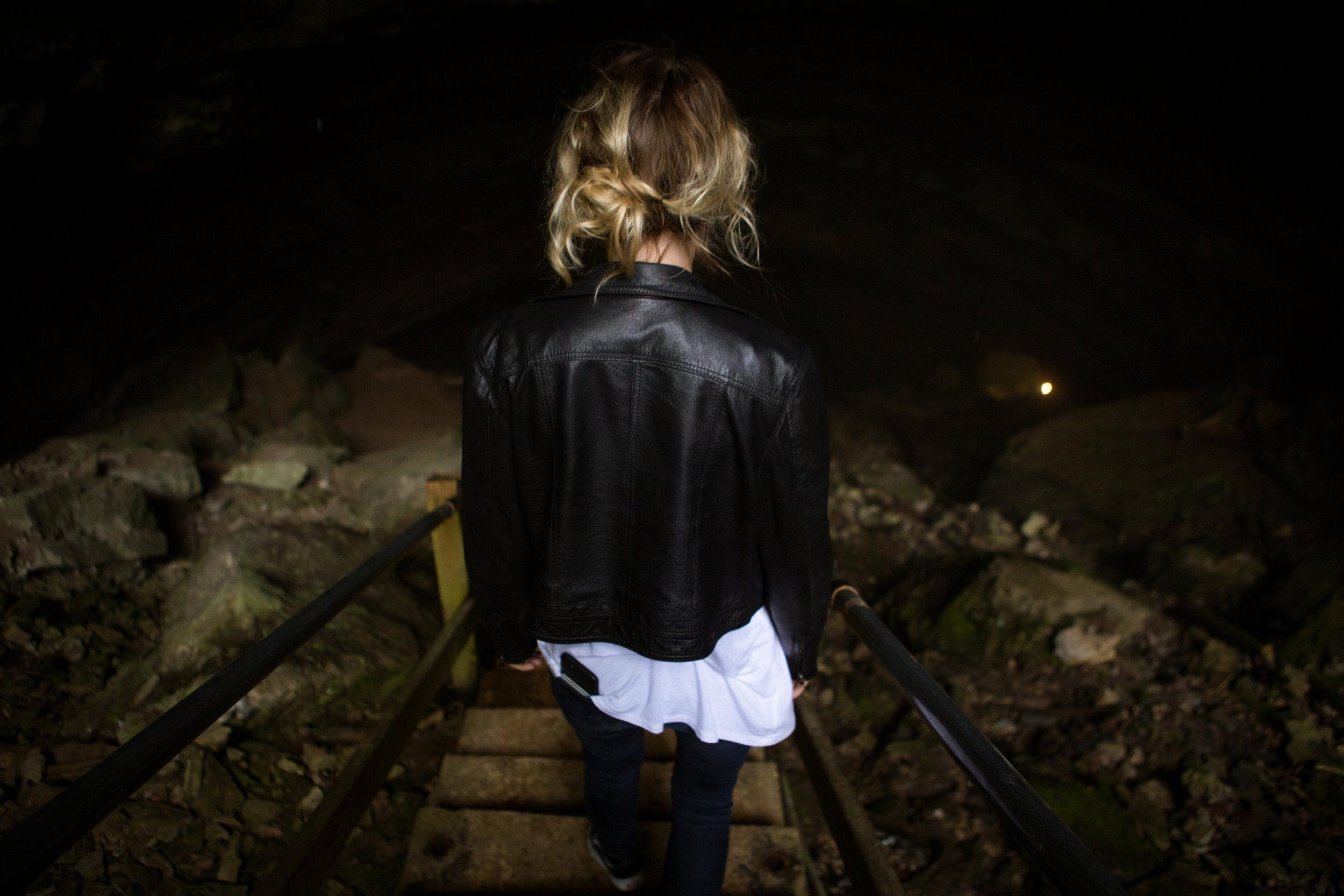 Hidden River Cave Kentucky Leticia Cline shot by Preston Burroughs