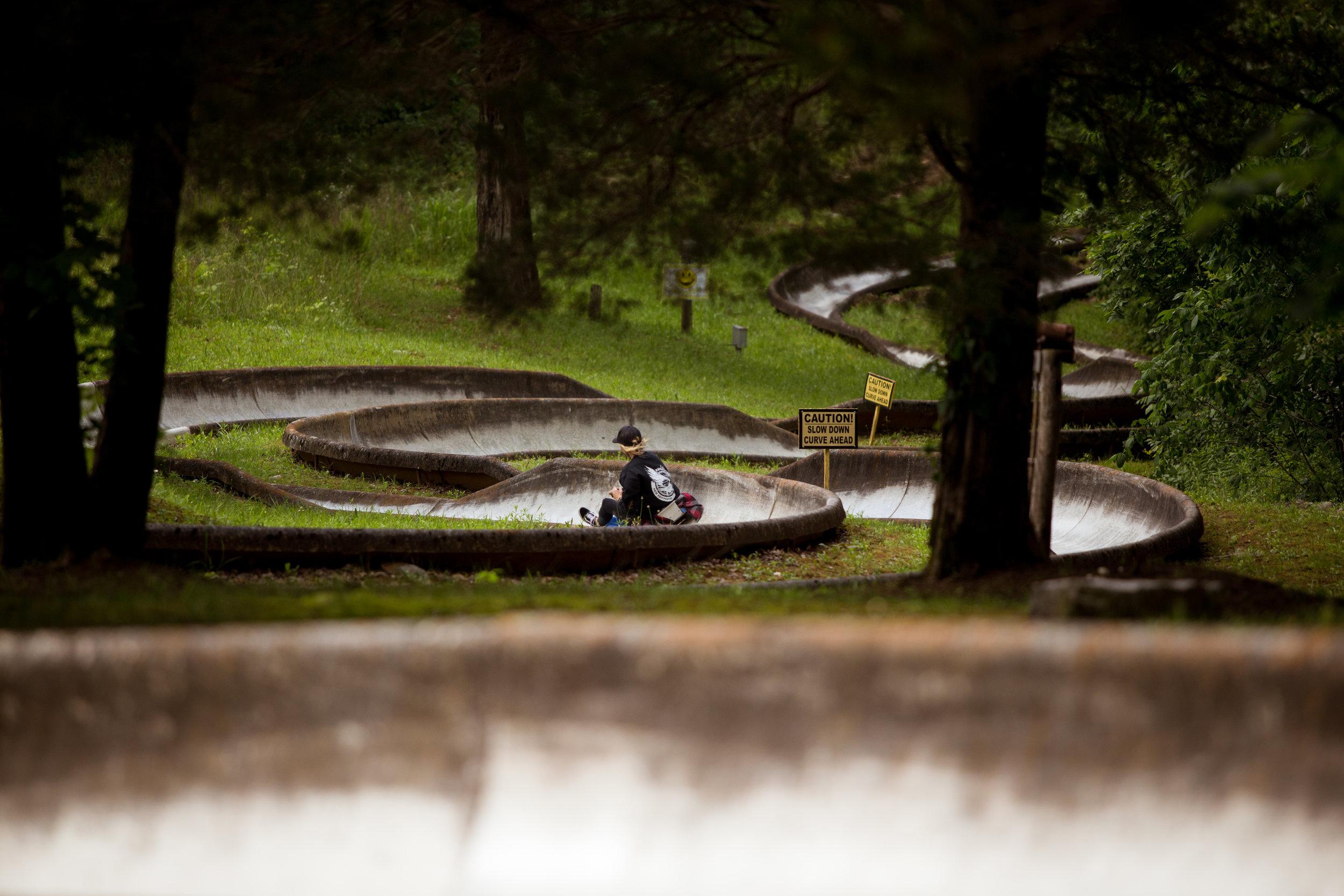 Kentucky Action Park Leticia Cline shot by Preston Burroughs