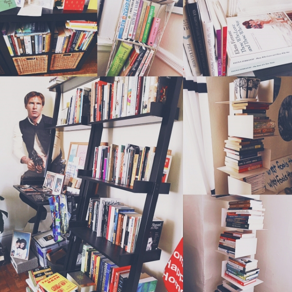 some of the books in my house. not all. some.