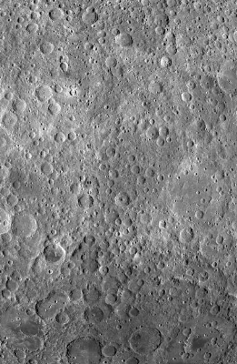 The far side of the moon as captured by NASA's Lunar Reconnaissance Orbiter