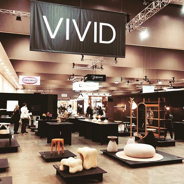 Nara range and ricocher in display at @vividdesigncomp @aufurniturefair @decordesignshow  Picture by @thomasyeenddesign 🙏🏼 📷 . #furnituredesign #furniturefair #aiff #vivid2018 #interiors #interiordesign #furniture #designdemobiliario