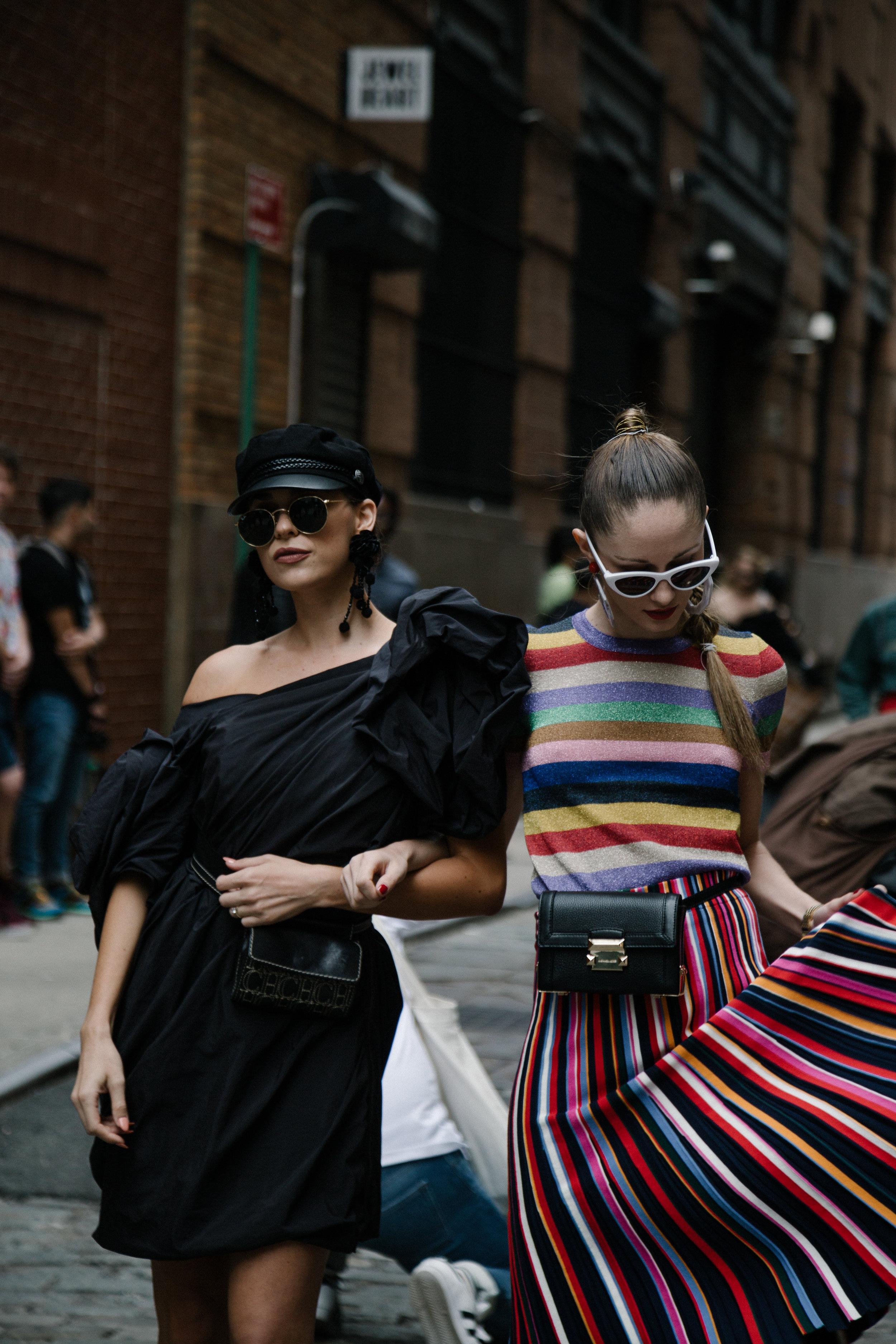 NEW YORK FASHION WEEK SS19   STREET STYLE