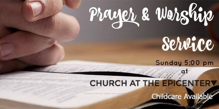 Join the prayer warriors of The E, as we intercede for our city, region, state, nation, and world!