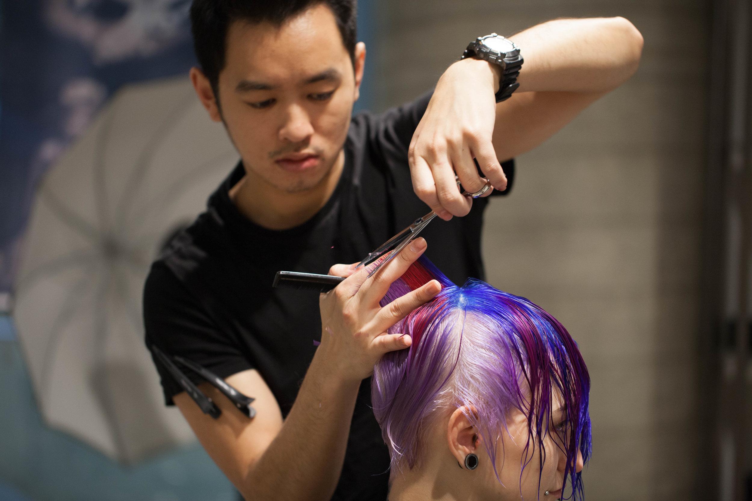 Hung Tran - Creative Director of Blow! It's A Hair Thing, Adelaide SA.