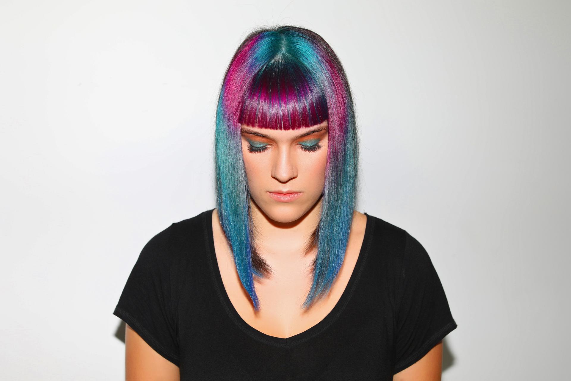 Model:  Andrea //Hair:  Hung Tran  -  Blow It's A Hair Thing  // Makeup: Rene //Photography:  MARA Visuals