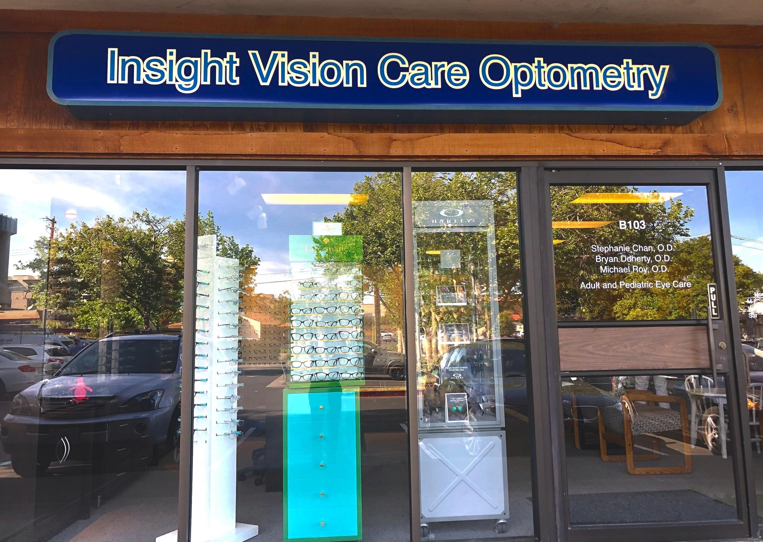 - Insight Vision Care Optometry675 Ygnacio Valley RoadSuite B103Walnut Creek, California 94596Office: (925) 933-4700Fax: (925) 933-4721