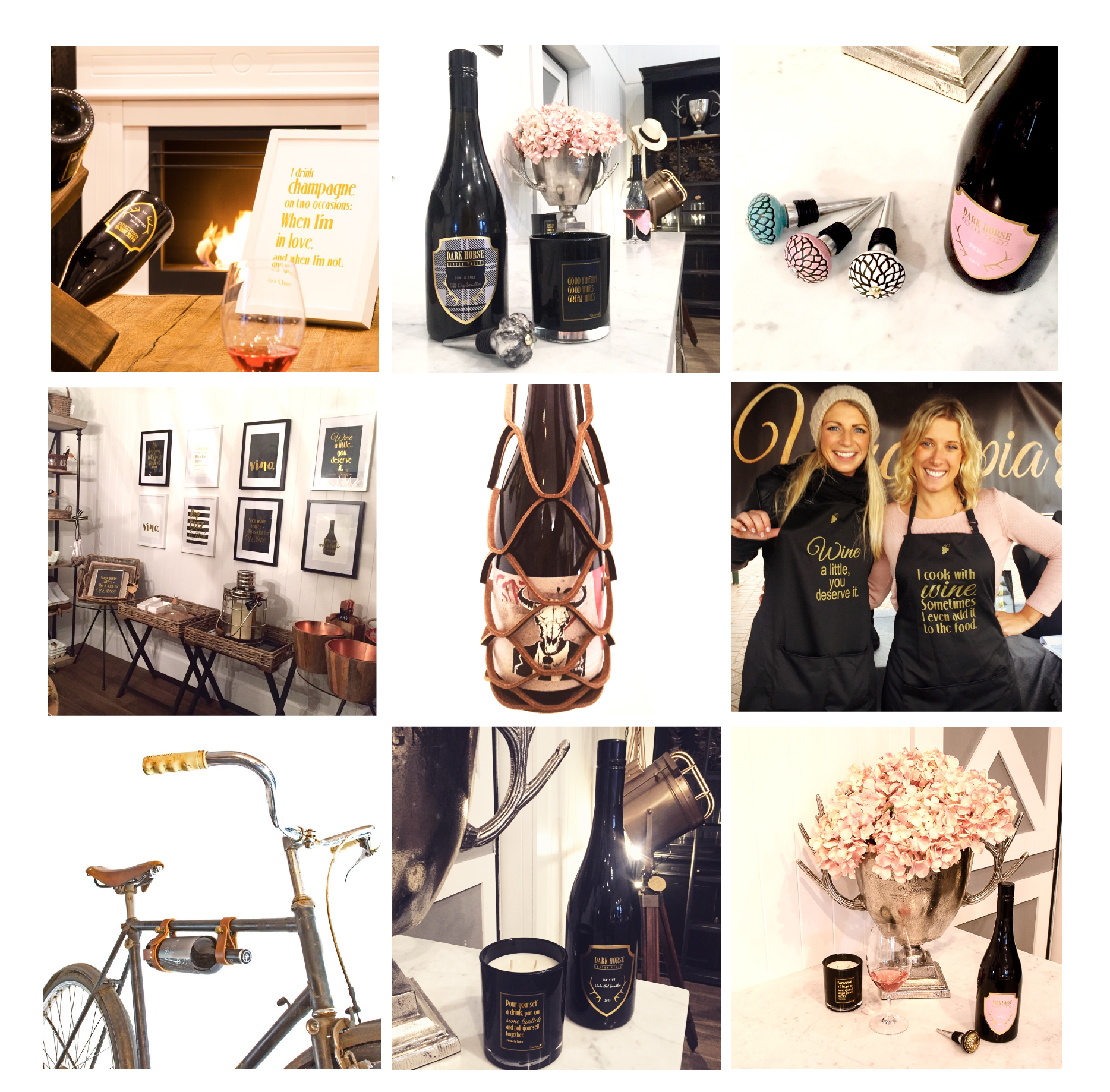 A small selection of the Vinotopia gifts and accessories range