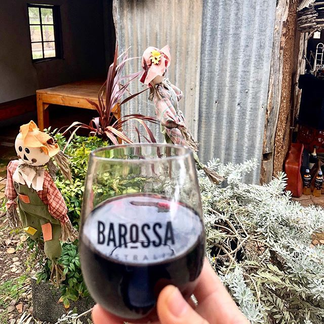 Beautiful rustic stop at the Barossa Gourmet weekend: @gibsonwines. We got a little rained in and nearly blown away by the strong winds, but hey, it's all part of the fun! #barossavalley #cellardoor #winetasting #winewinewine #winetime #cheers #barossawine #southaustralianwine #barossagourmetweekend #barossagourmet2019
