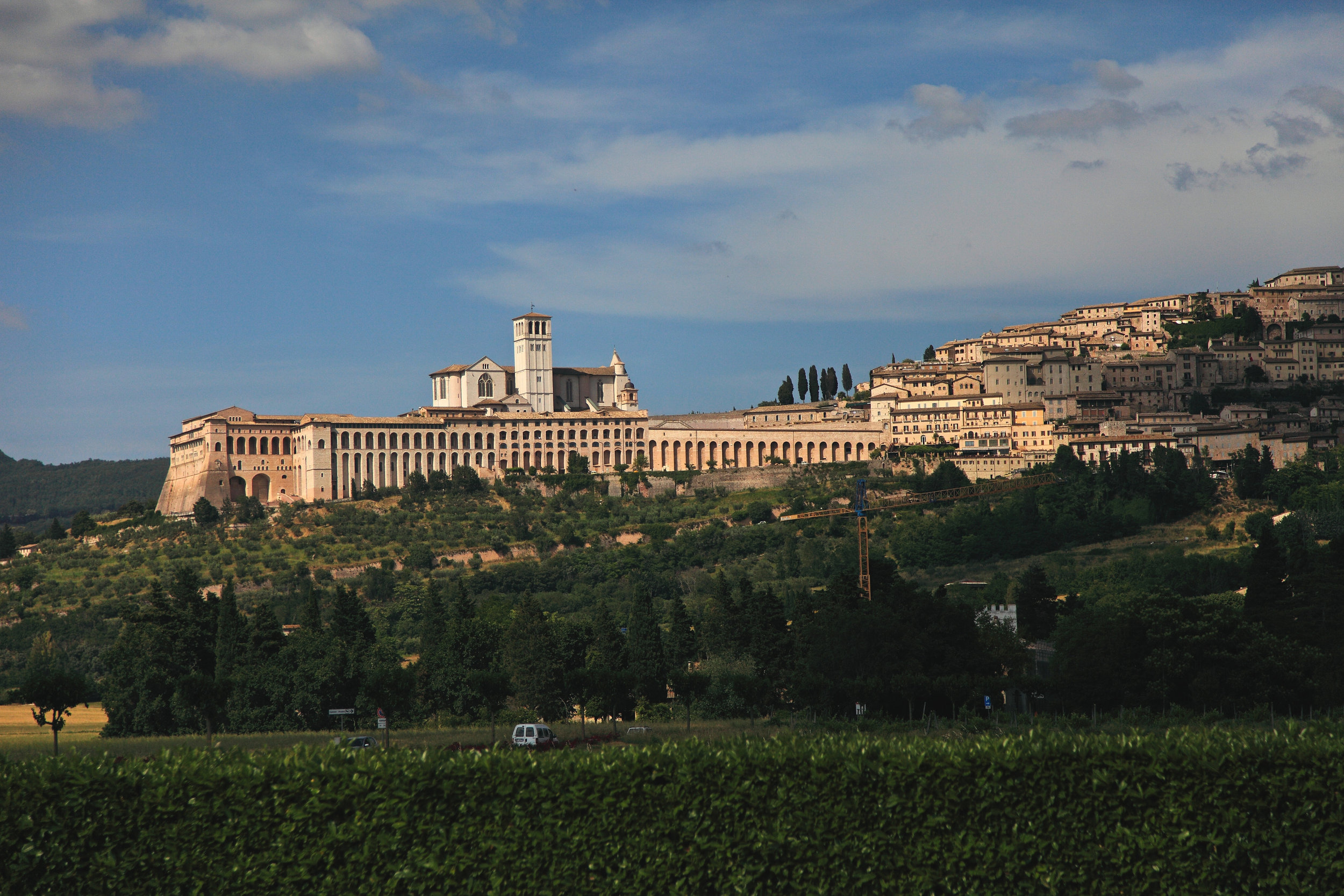 The Basilica di San Francesco d'Assisi