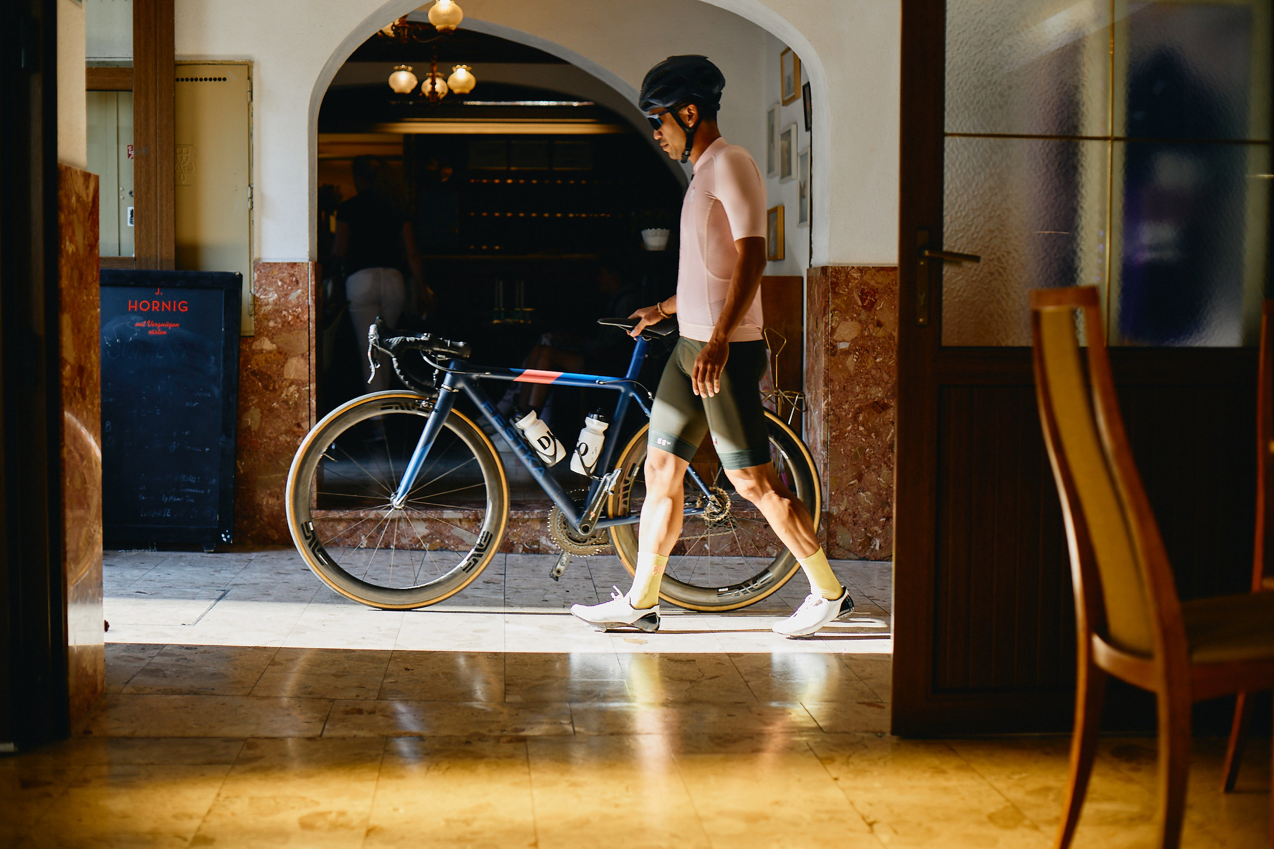 Guests are encouraged to explore Vienna by bike