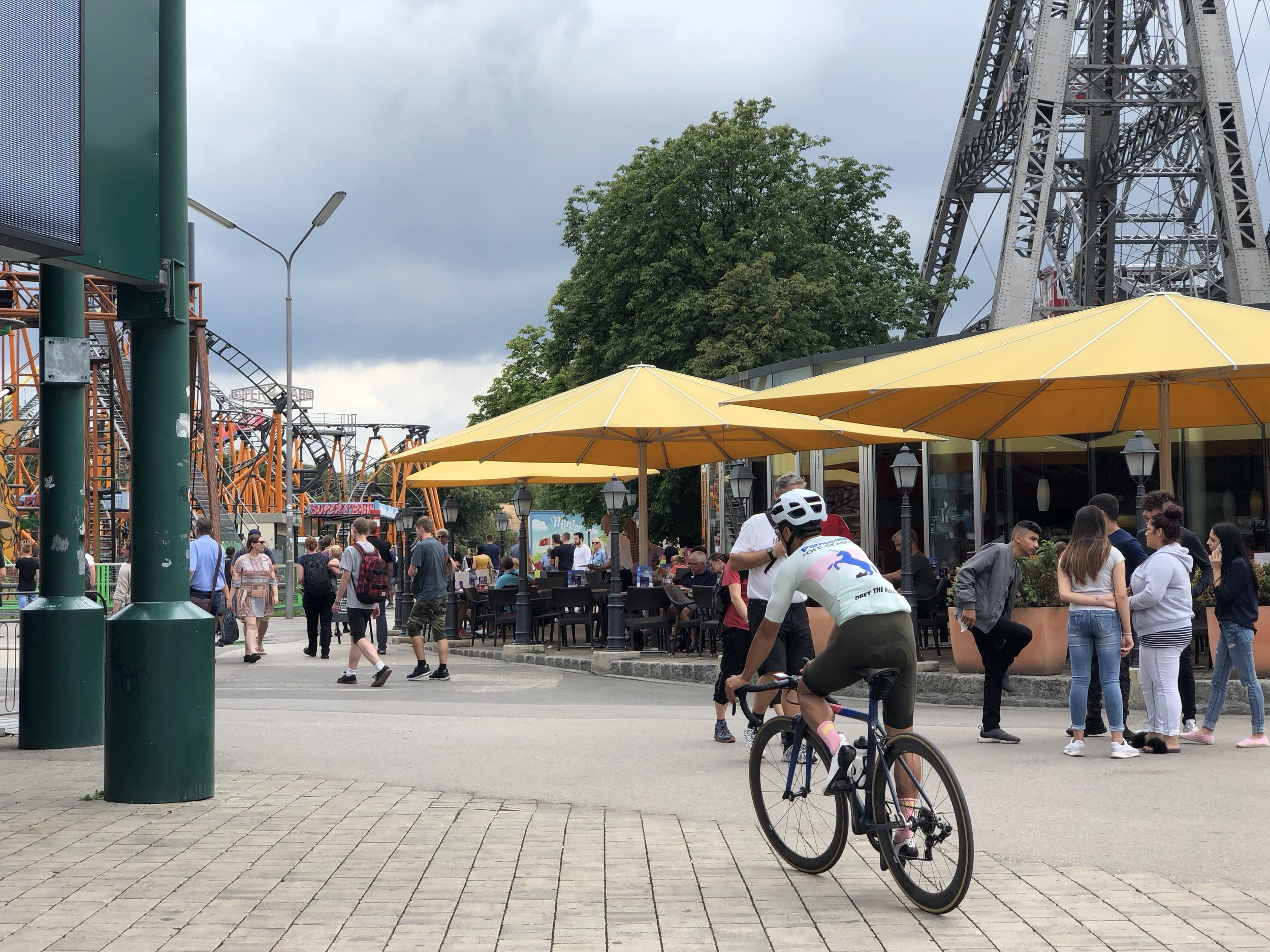 A ride through the Prater amusement park is an experience but must be done with care