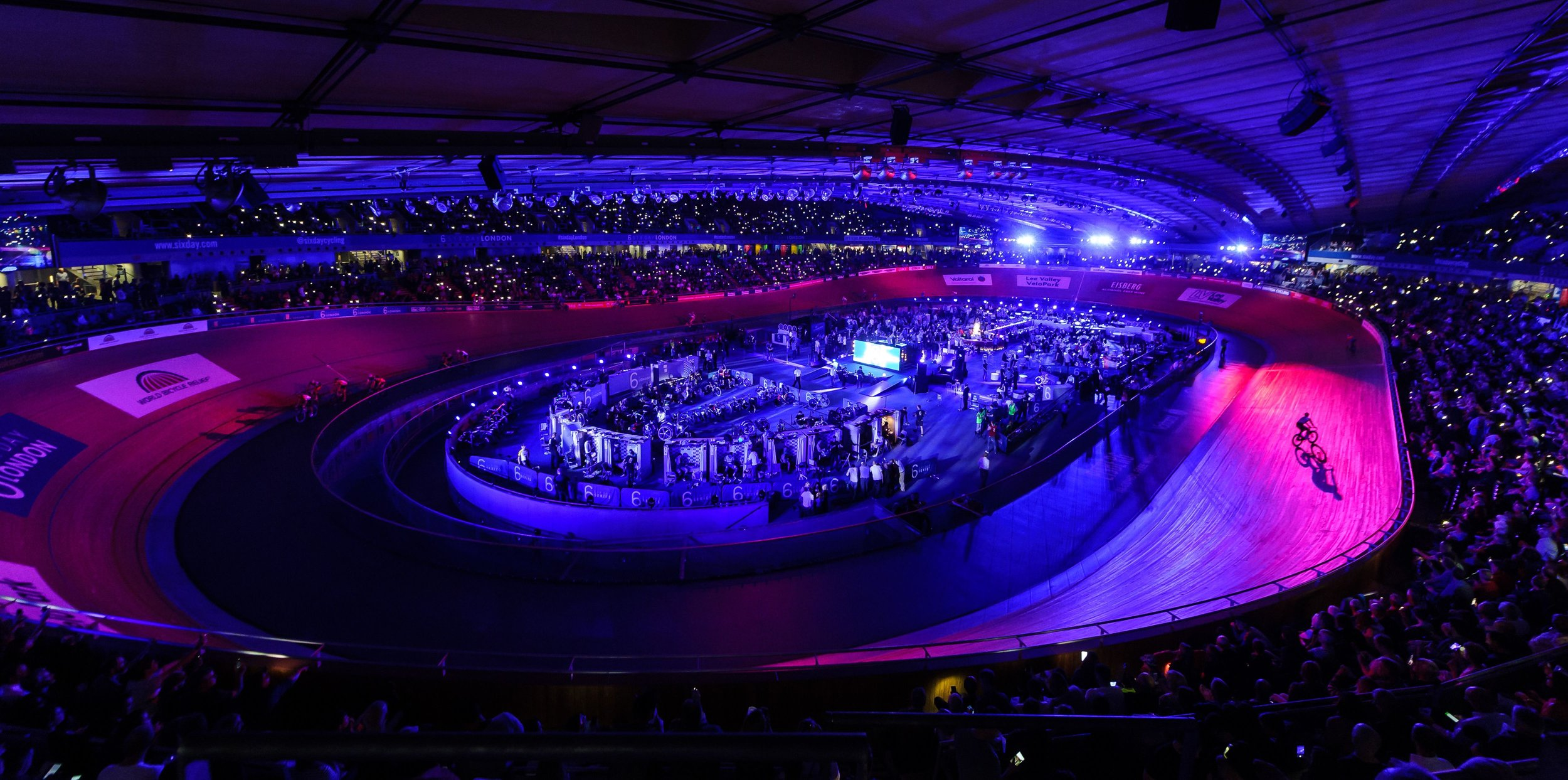 It's like a rave with bikes - the party atmosphere of the Six-Day series is unrivalled.