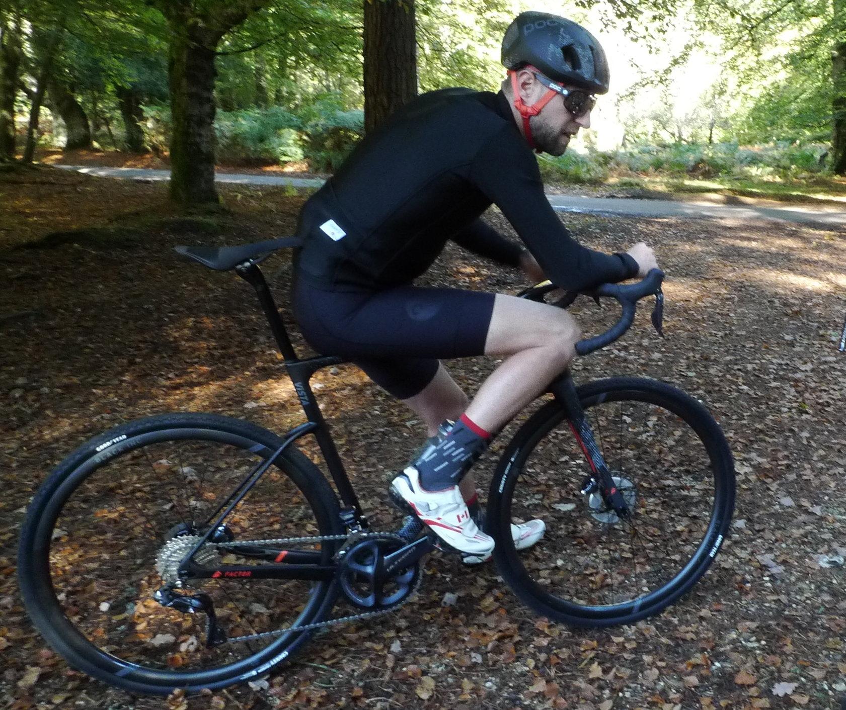 Chpt3 ambassador Ryder Hesjedal rides the new Factor Vista