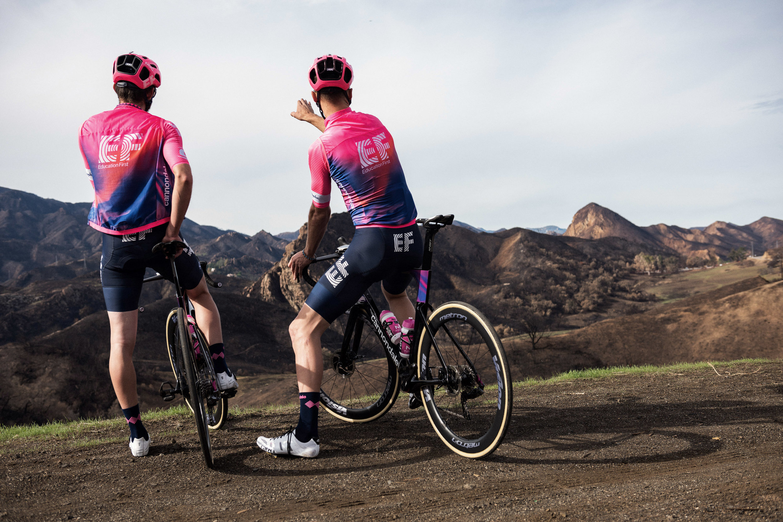 Team EF Education First will be wearing the Poc Ventral Air on the Tour Down Under