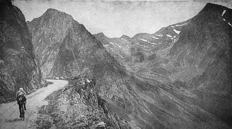 The Col du Tourmalet has featured in the #tdf since 1910. This is Eugene Christophe on it in 1920. He had a few stories about the Tourmalet, but the one where he broke his forks and had to mend them in a forge on the 1913 edition has to be one of the best. The race is heading towards this very scene right now, and it probably won't have changed much. . . . . . . #tdf #tdf2019 #Cycling #Instacycling #Roadcycling #Cyclinglife #Cyclingshots #Cyclingphotos #Bikelife  #Roadslikethese #Lightbro #Bikeporn #Cyclingstyle #Cyclingculture #Instabike #Bike
