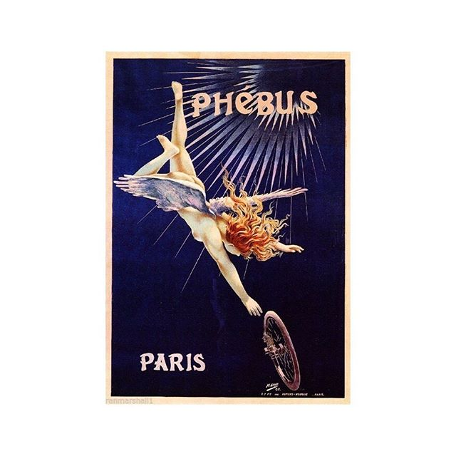 One of the earliest bike brands, Phebus was making cycles in 1889. Unfortunately they went on to produce motorised tricycles and then by 1899, motorcars. They probably thought it was progress. . . . . . . . #cyclinghistory  #cycling #advertising #marketing #cyclinglife  #cyclingculture