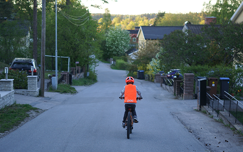 POCito equipment is developed specifically for children starting out on the bike