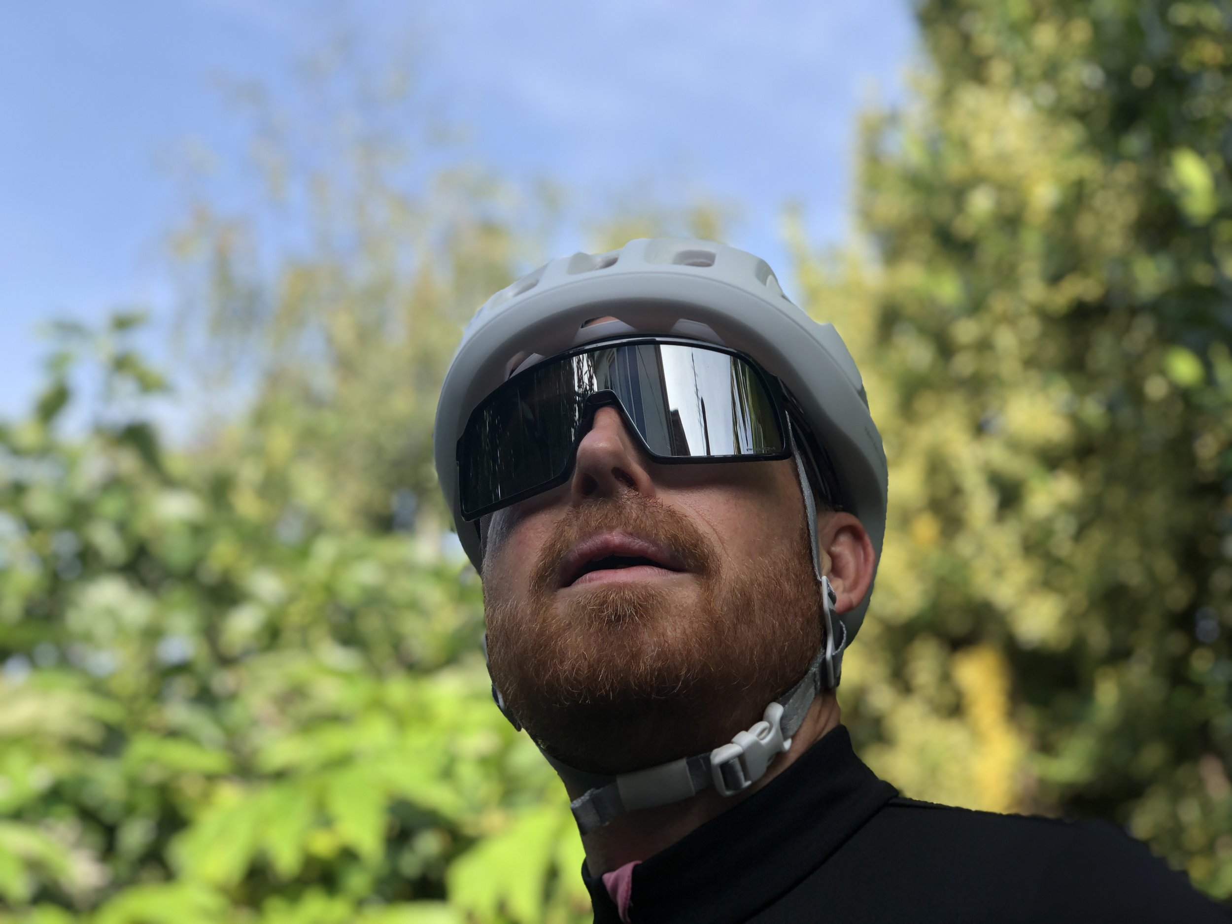 With their high-wrap Prizm lenses, Oakey Sutro offer superb field of vision