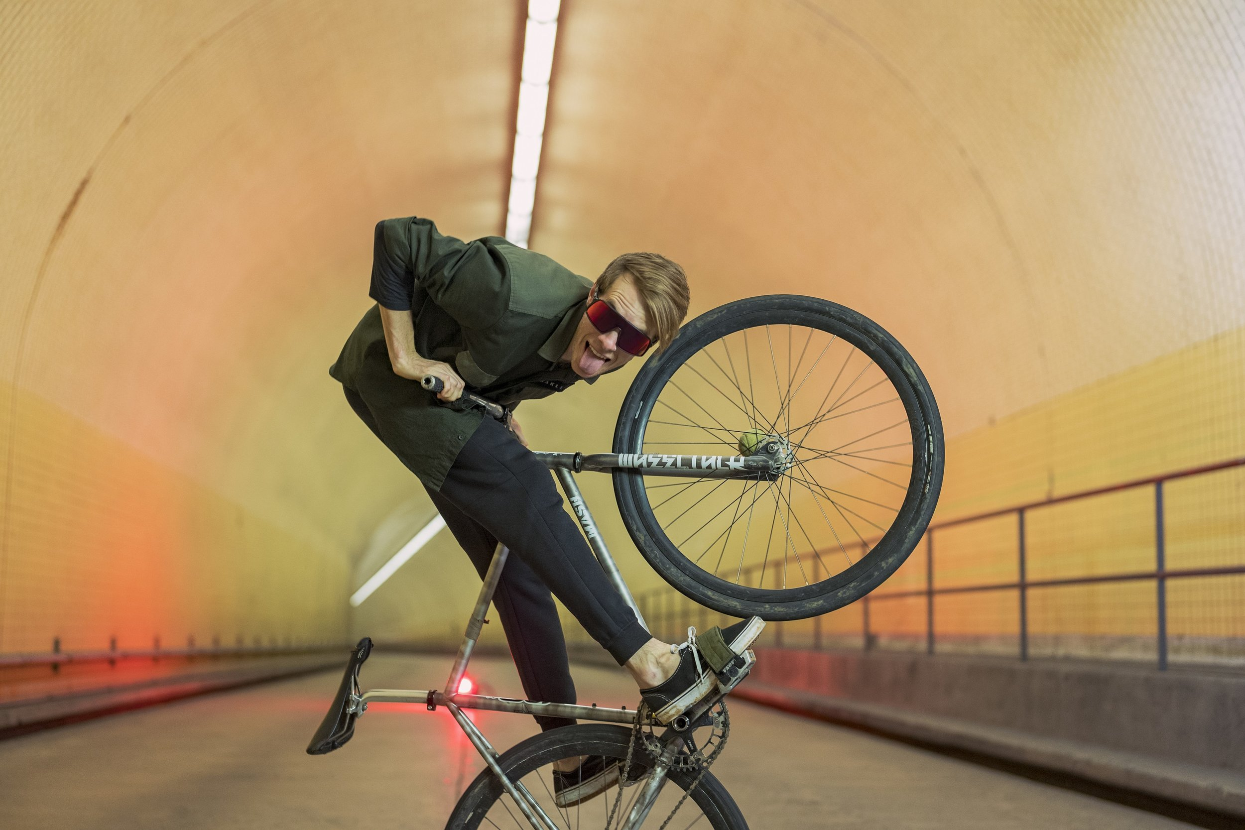 Oakley Sutro were developed for urban cycling.