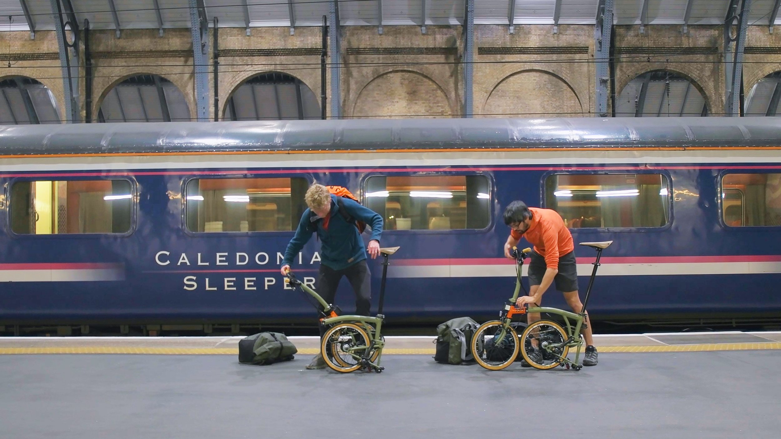 The Brompton Explore Edition was tested in the Scottish Highlands, and on the Caledonian Sleeper