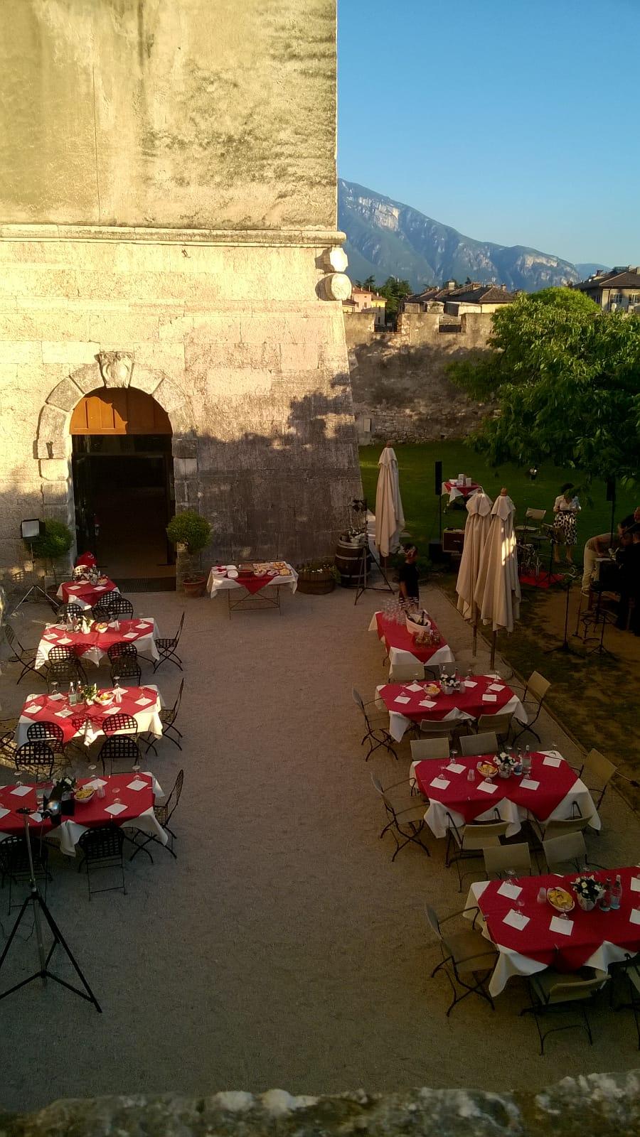 IL giardino del barone al castello del buonconsiglio