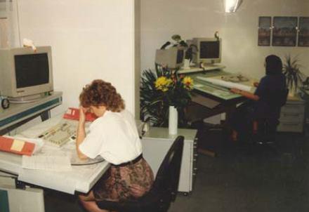 CAD-Arbeitsplatz 1991