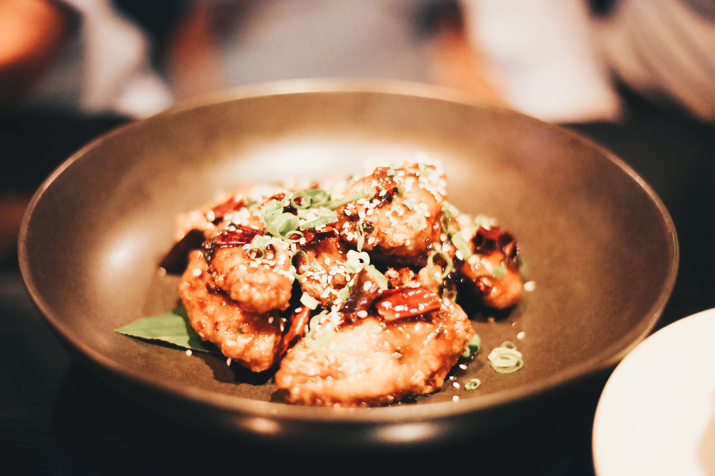 Sichuan style chilli chicken wings