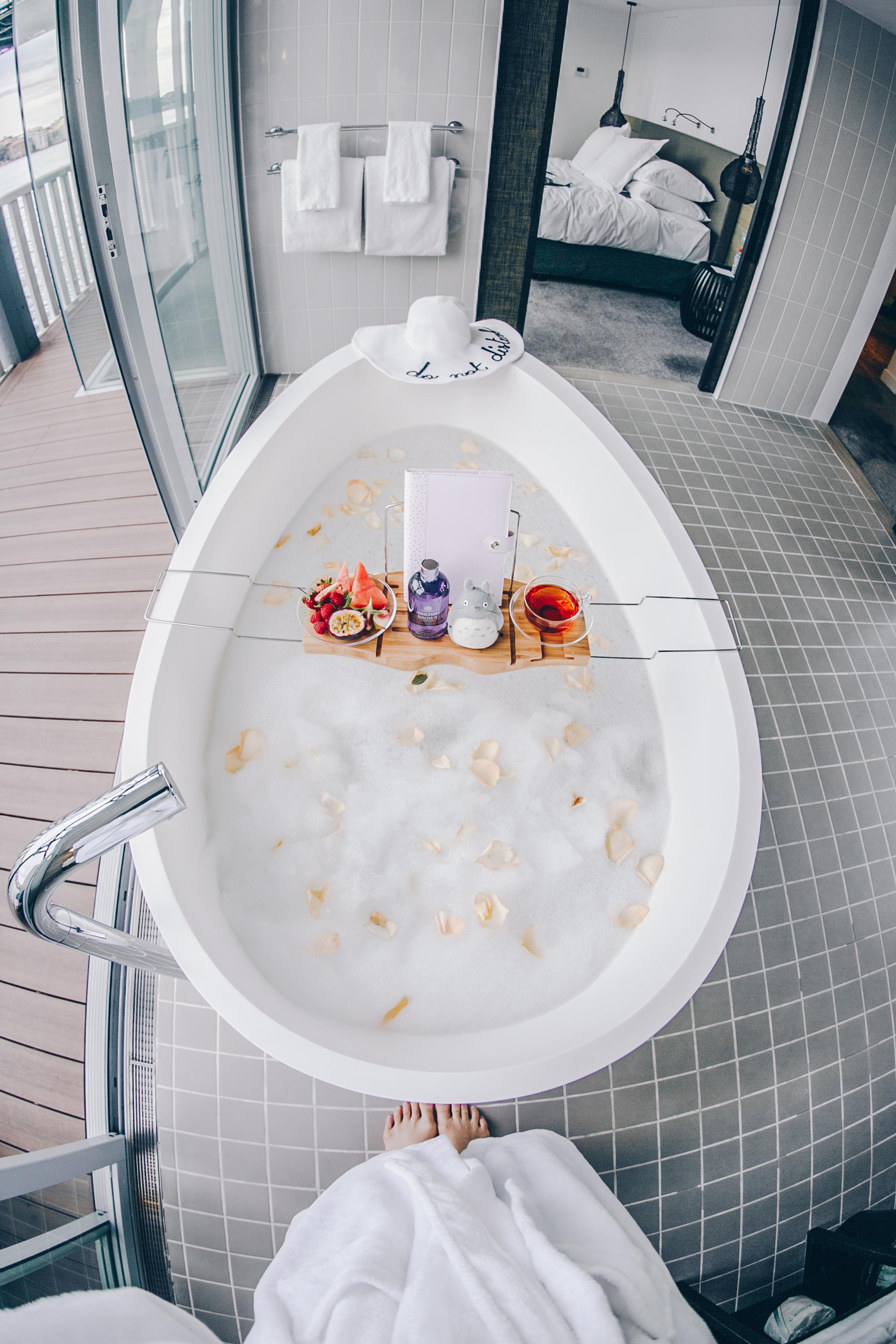 Molton Brown bubble bath goodness!