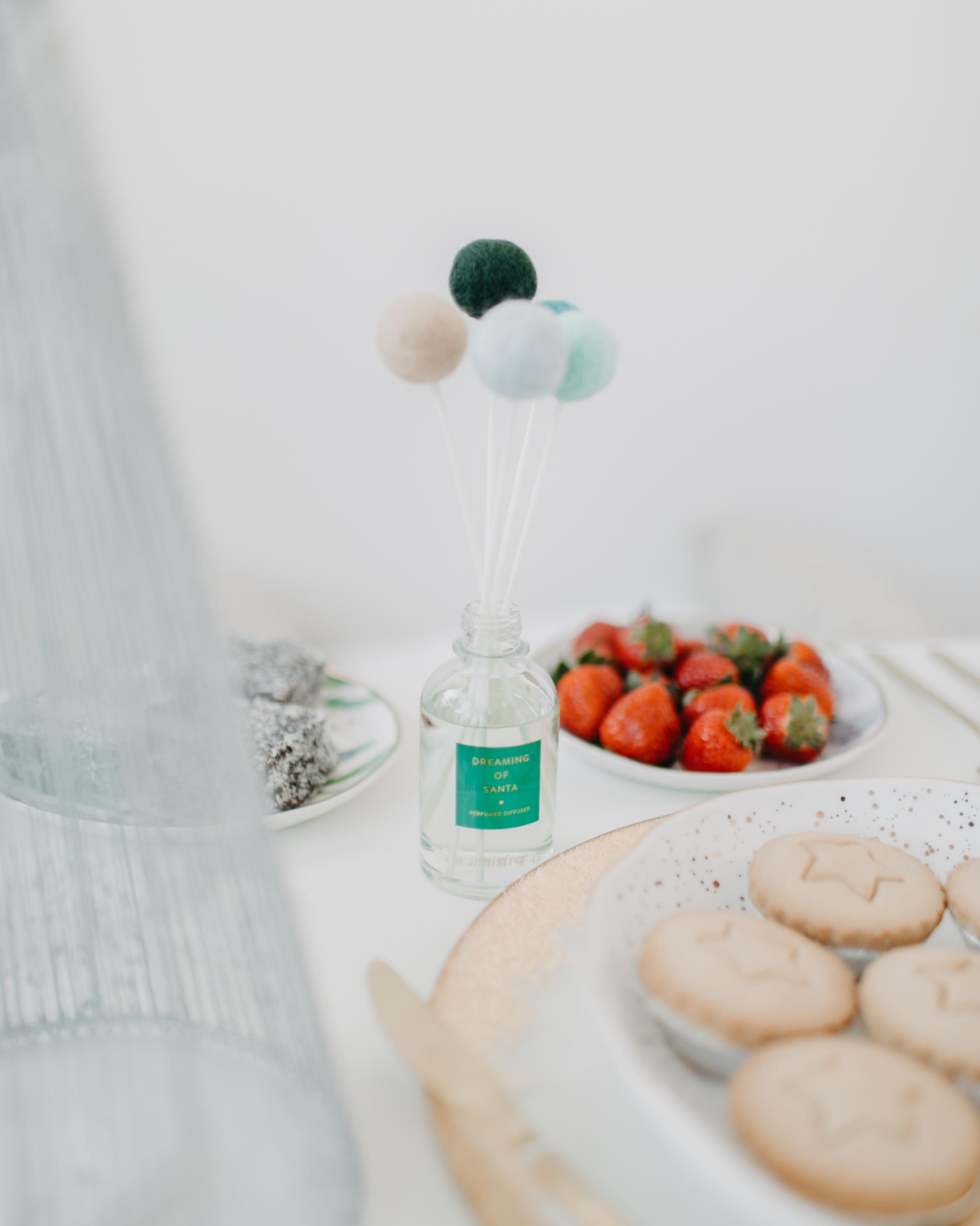 Dreaming of Santa Perfumed Diffuser   Festive, limited-edition clean soapy mush perfumed diffuser.