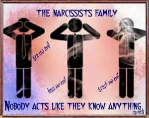 Nárcisztikus család