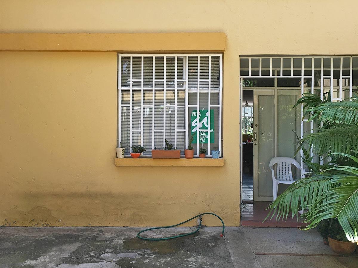 Casa de Medellín que vota por el Sí
