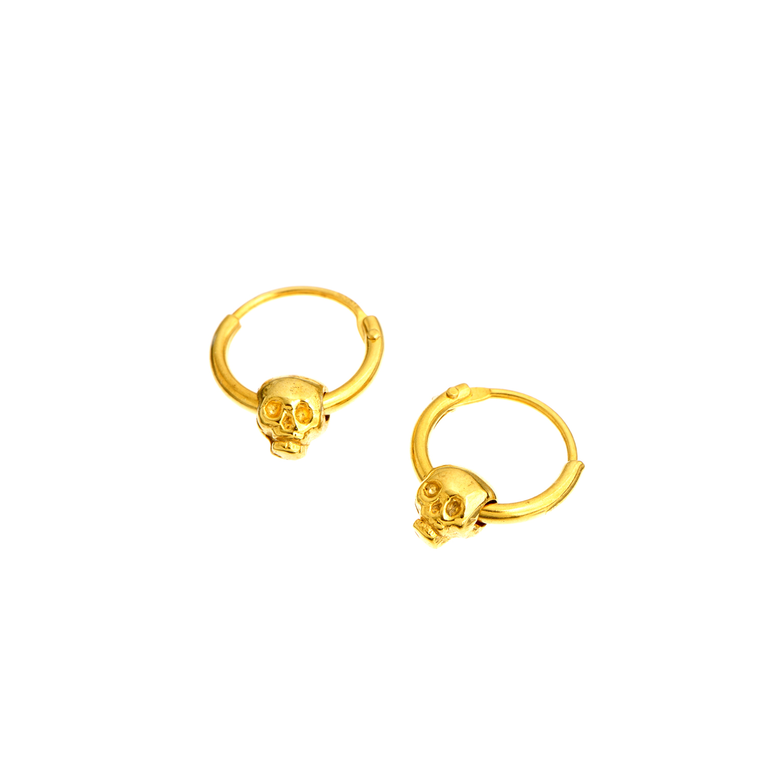 Momocreatura skull hoop gold.jpg