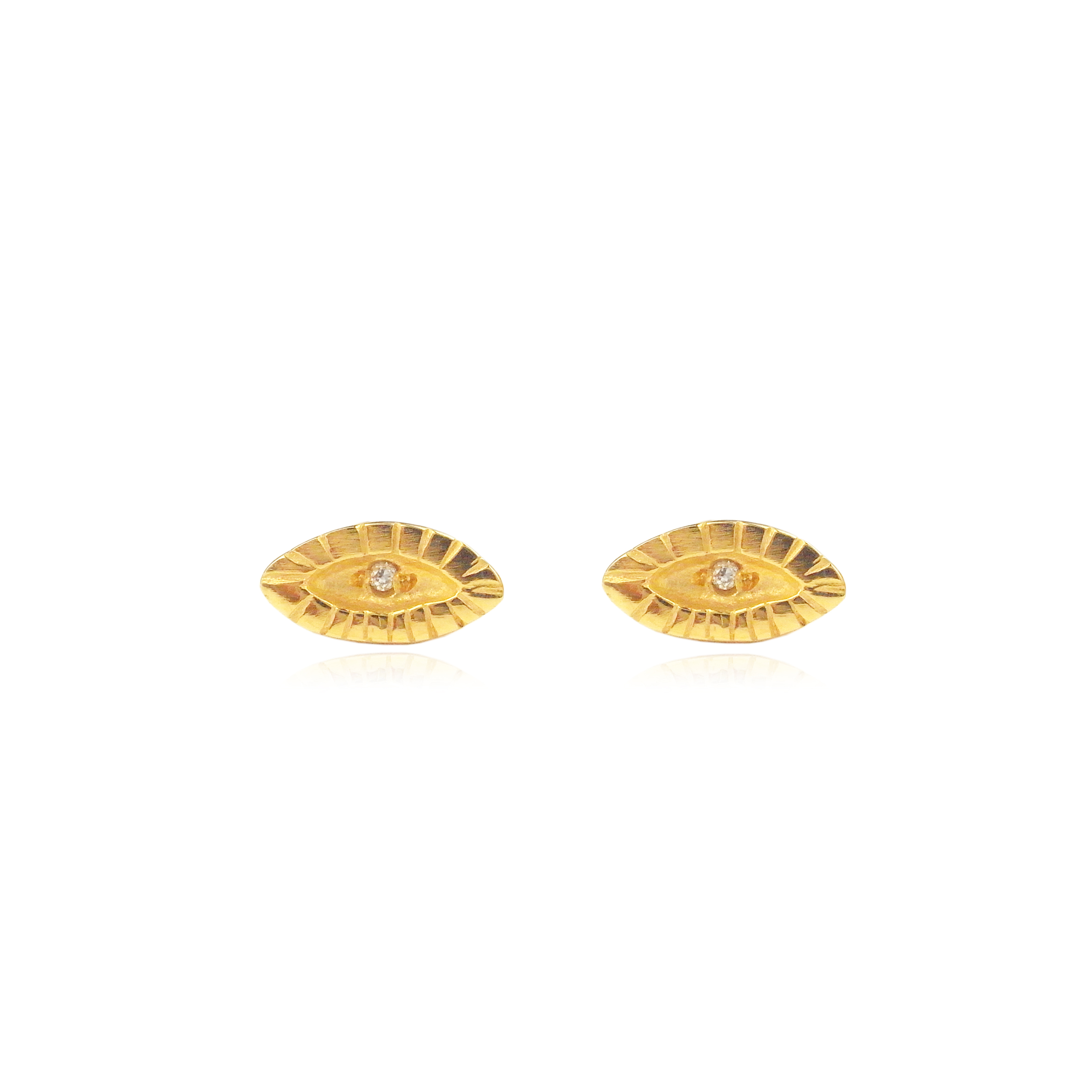 Momocreatura  tiny eye diamond er gold.jpg
