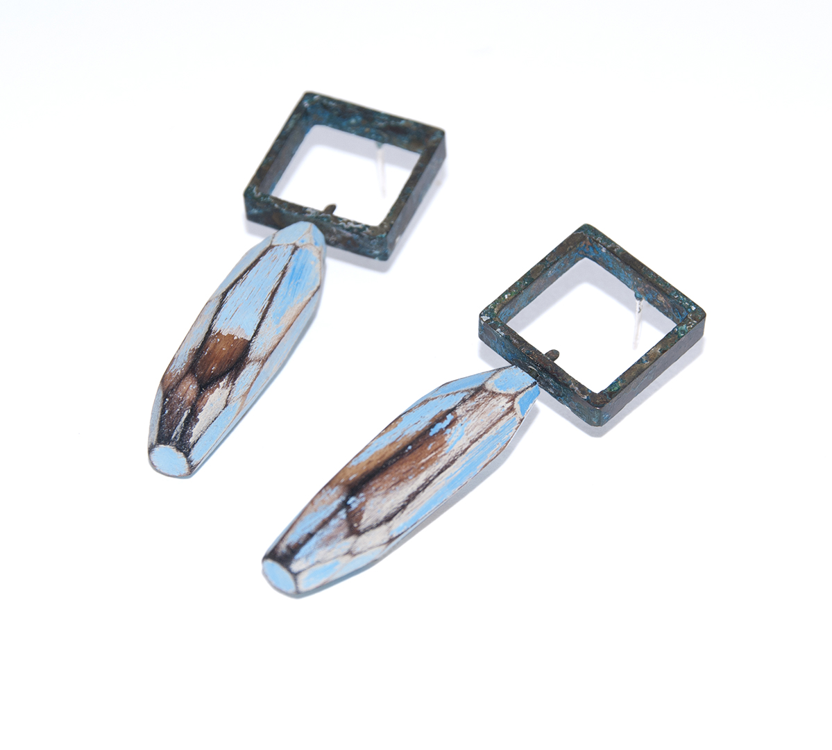 Cristina Zani - My Seoul blue square earrings.jpg