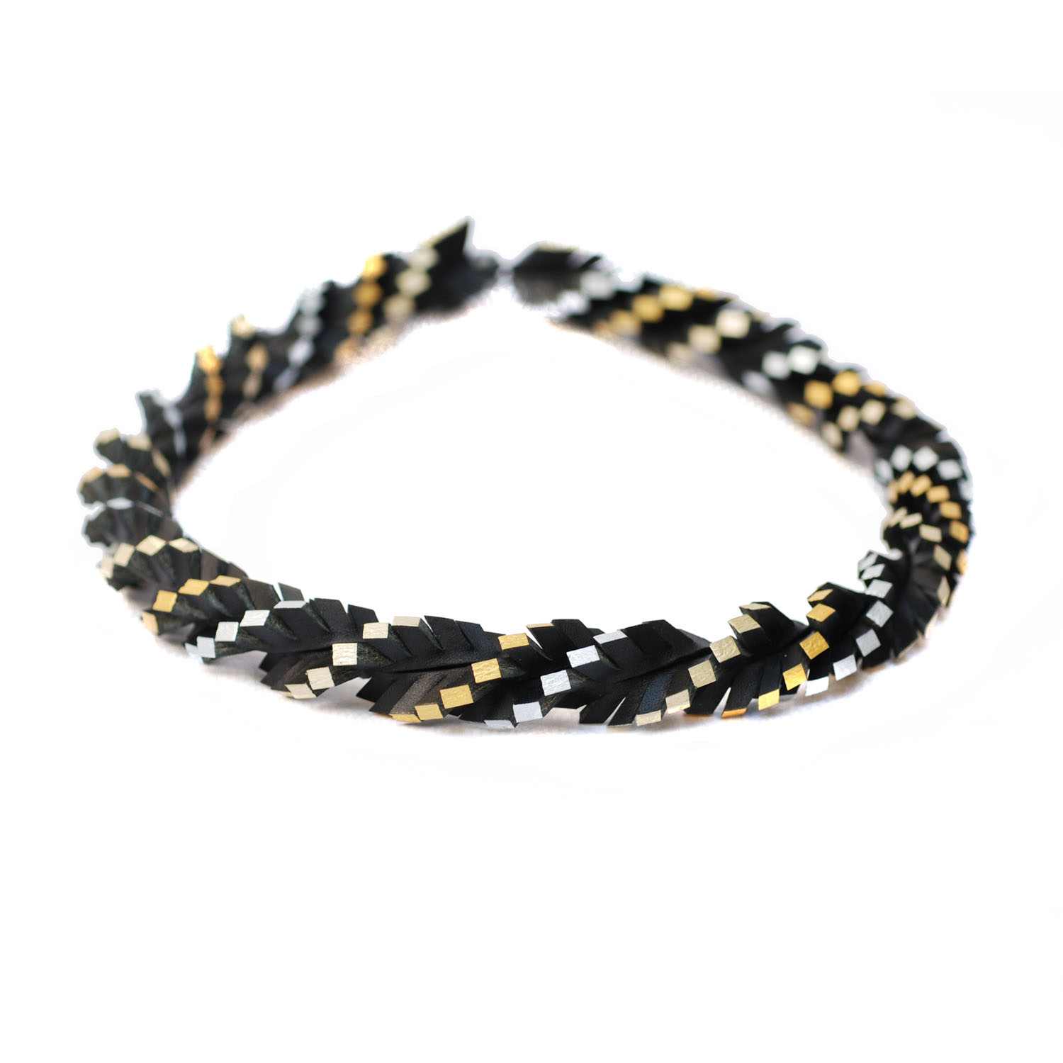 tania clarke hall Twisted Up Black & Gold-Silver.jpg