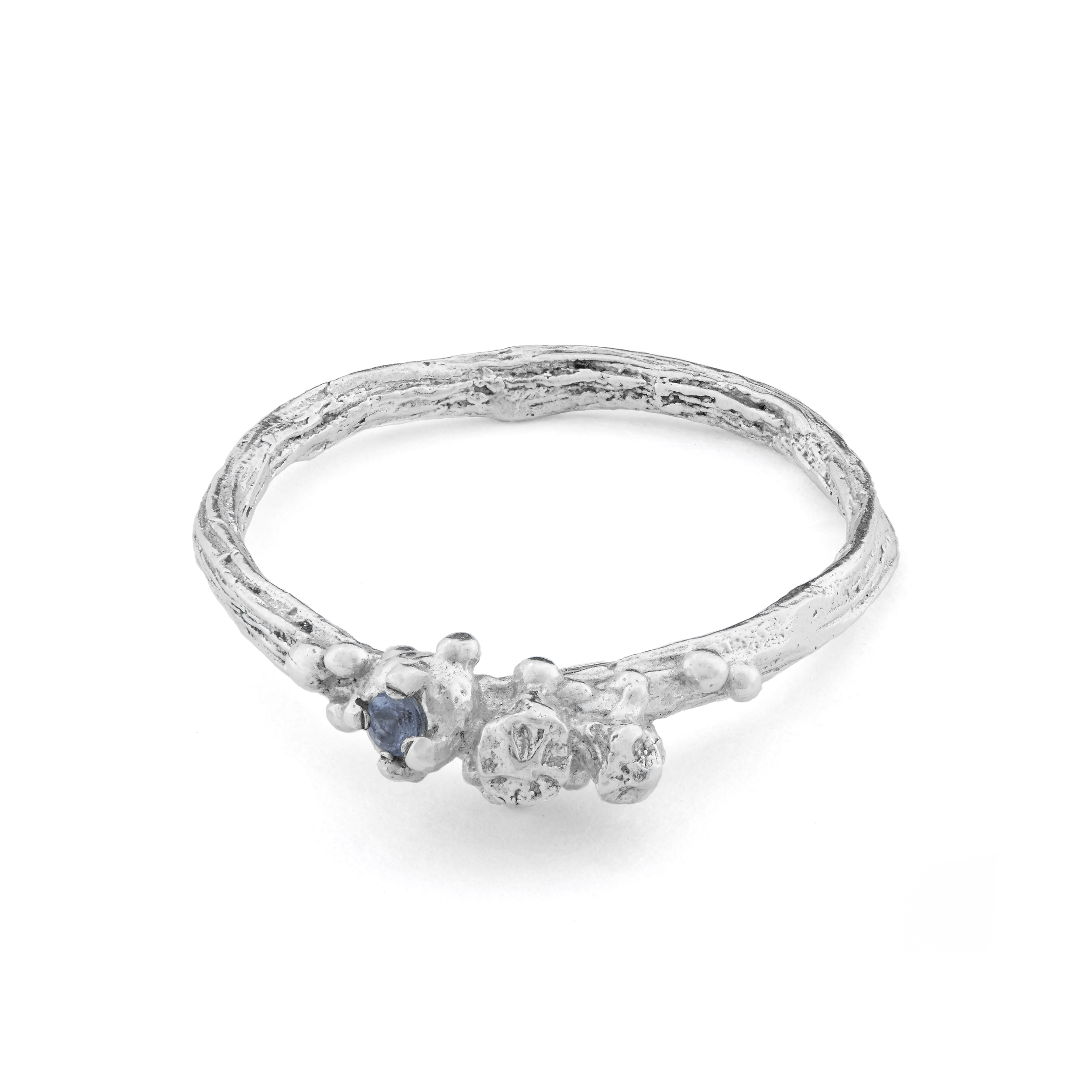 Eily O Connell berries ring silver with aquamarine.jpg