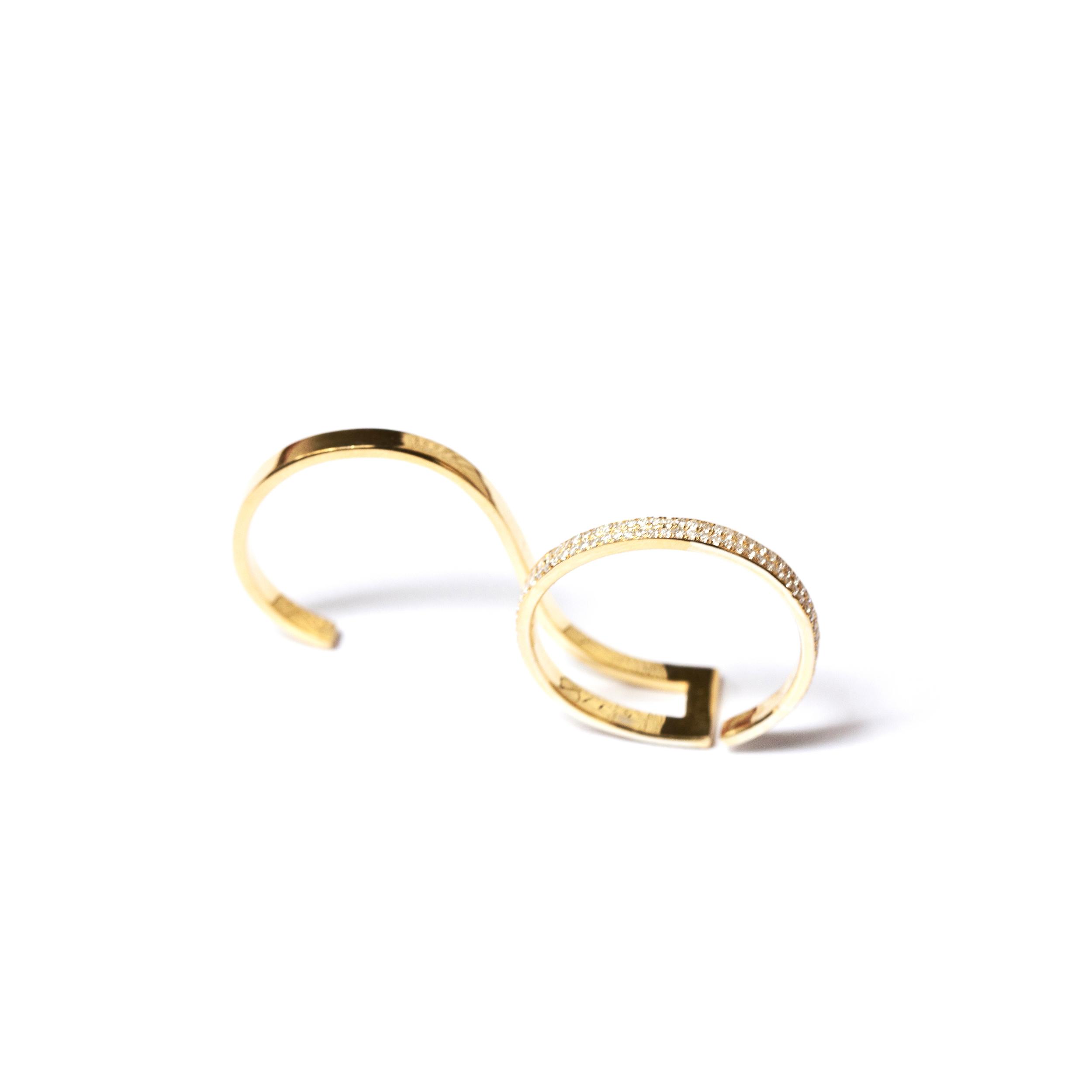 dorry hsu Unfinished line ring with diamonds, HSU.jpeg