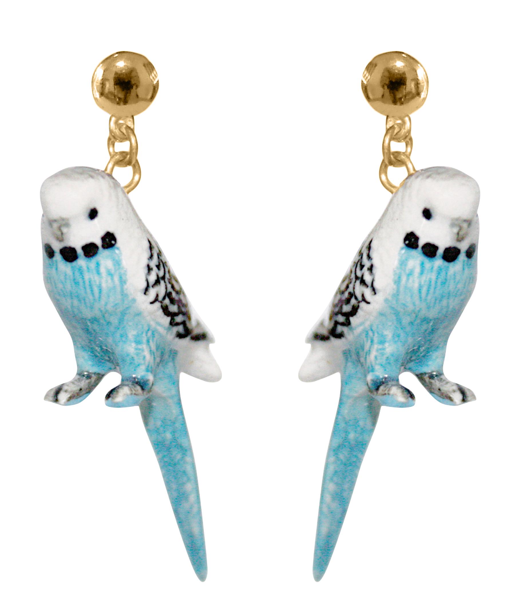 nach bijoux  J006 Blue Buggeriar Bird Earrings.jpg