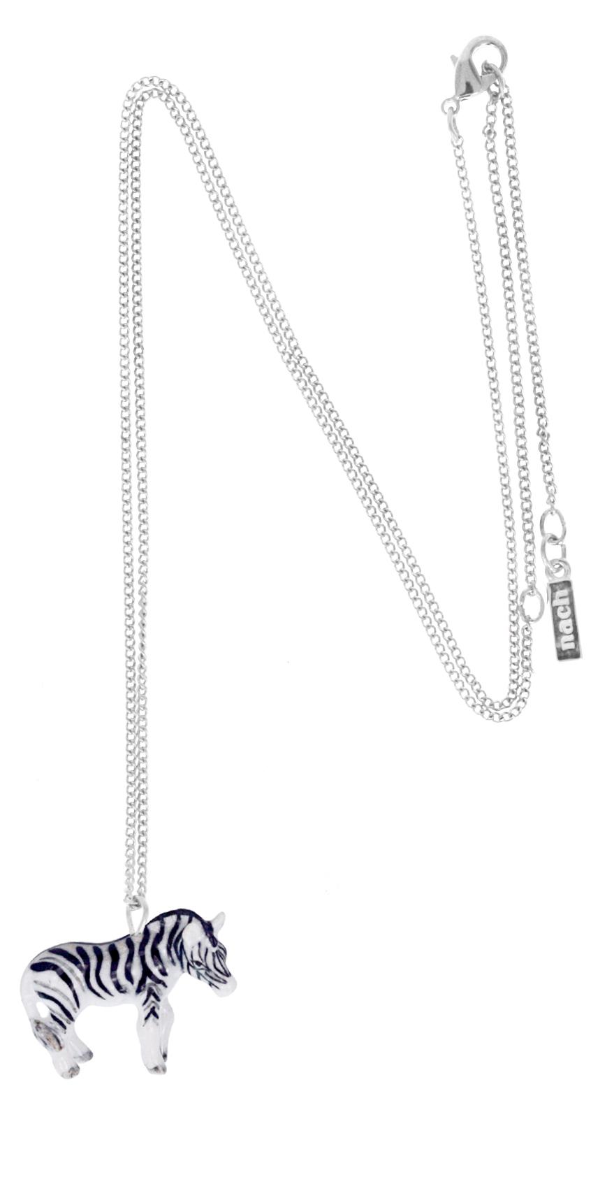 nach bijoux  U056S Zebra mini necklace.jpg